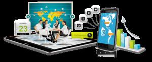 Мобильные приложения в 6 раз популярнее веб-сервисов
